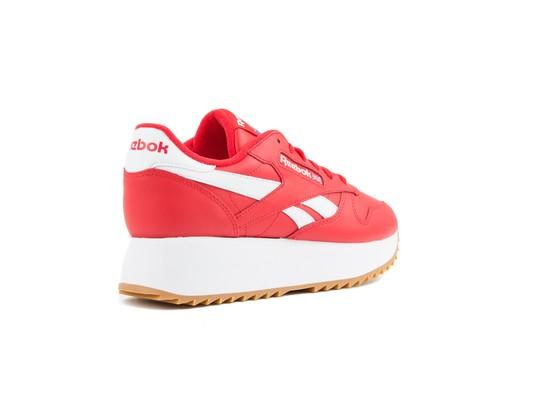 REEBOK CL LTHR DOUBLE PRIMAL RED WHT COBAL-DV3632-img-3