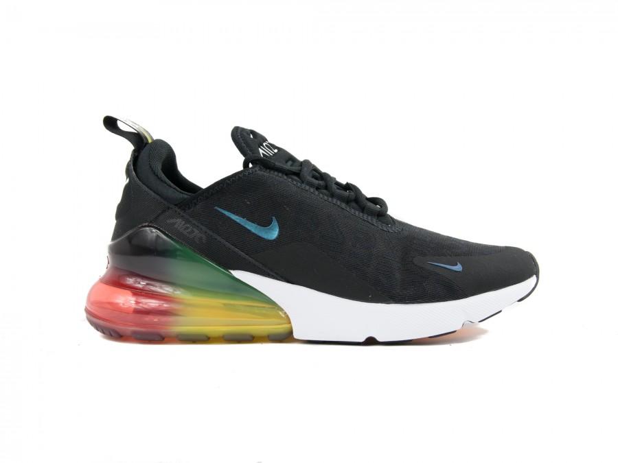 Sneaker Nike NIKE AIR MAX 270 SE BLACK BLACK-LASER ORANGE