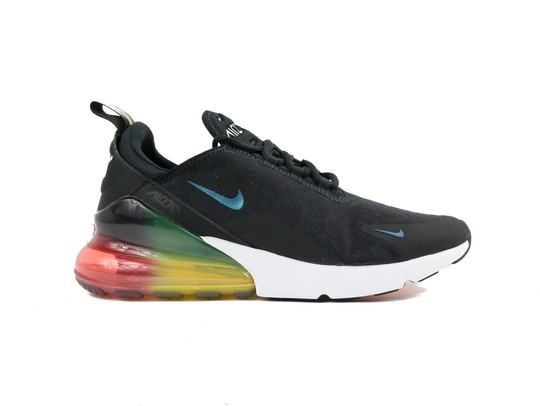 NIKE AIR MAX 270 SE BLACK BLACK-LASER ORANGE-AQ9164-003-img-1
