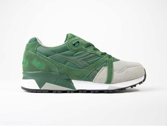 a327e598f6e7 Diadora N9000 Double Green Gray-161750924-img-1