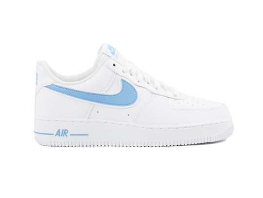 NIKE AIR FORCE 1  07 3 WHITE UNIVERSITY BLUE-AO2423-100-img-1
