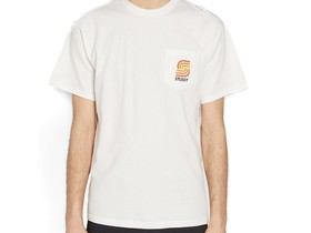 STUSSY S BLEND PIG. DYED PKT TEE NATURAL-1944207-NA-img-1