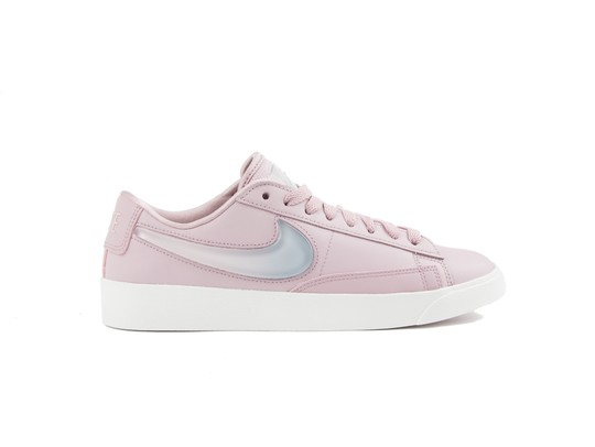 NIKE BLAZER LOW LX WOMEN PLUM CHALK-AV9371-500-img-1