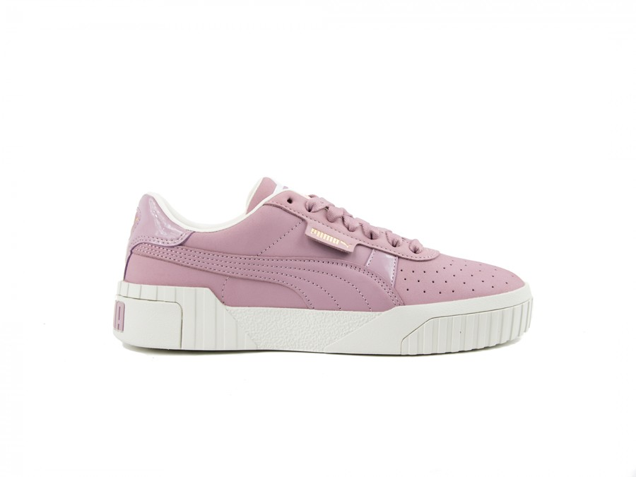 PUMA CALI NUBUCK WOMEN ELDERBERRY