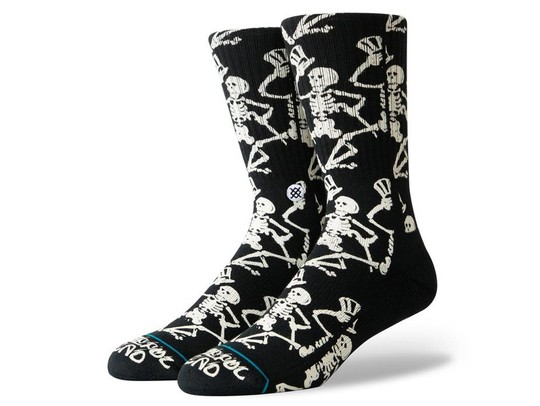 CALCETINES STANCE GRATEFUL SKULLS-M556A19GRS-BLK-img-1