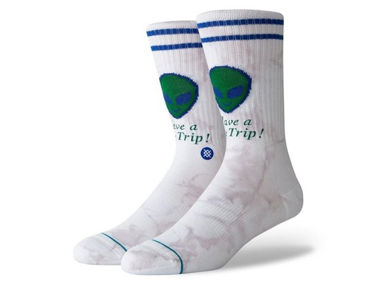 CALCETINES STANCE SPACE TRIP-M556A19SPT-WHT-img-1