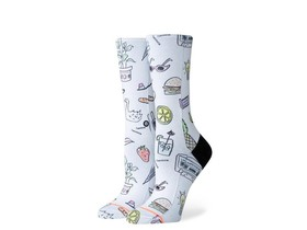 CALCETINES STANCE SHOPPING LIST-W525A19SHL-WHT-img-1
