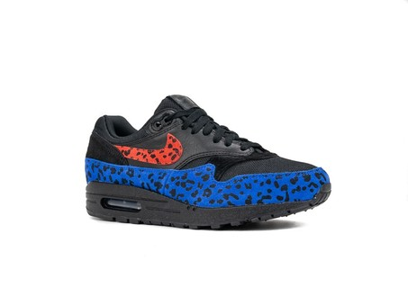 NIKE W AIR MAX 1 PRM BLACK HABANERO RED-RACER BLUE-BV1977-001-img-2