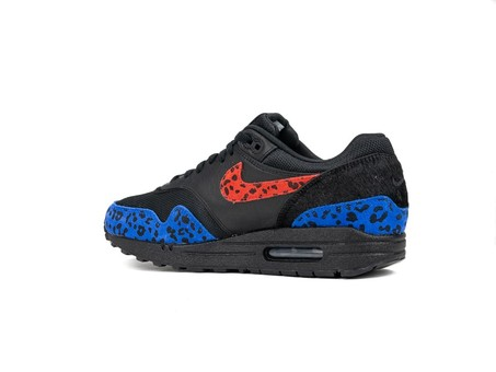 NIKE W AIR MAX 1 PRM BLACK HABANERO RED-RACER BLUE-BV1977-001-img-4