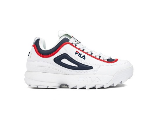 FILA DISRUPTOR CB LOW WHITE FILA NAVY-1010575-01M-img-1