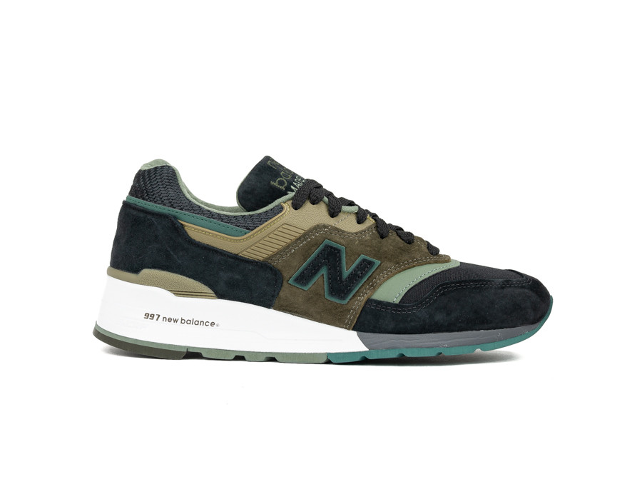 12045bc72ff NEW BALANCE M997 PAA MADE IN USA BLACK GREEN - M997PAA - zapatillas ...