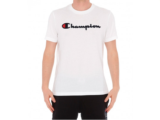 CAMISETA CHAMPION LOGO WHITE-212946-WW001-img-1