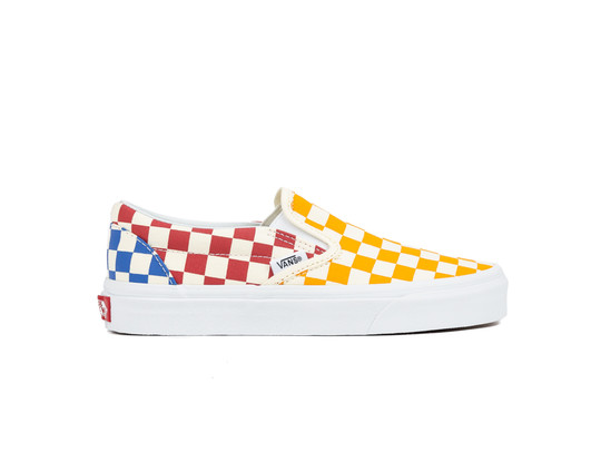 VANS CLASSIC SLIP-ON CHECKERBOARD-VN0A38F7VLV1-img-1