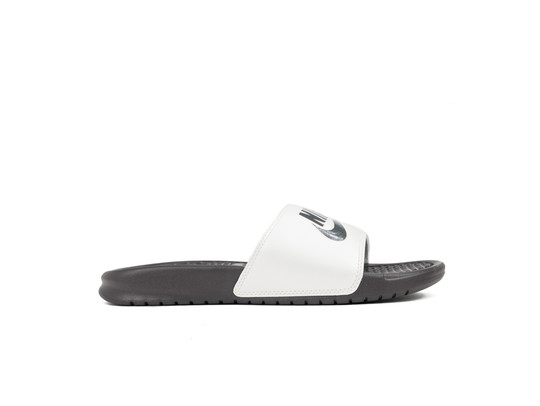 NIKE BENASSI JUST DO IT. SANDAL WOMEN THUNDER GREY-343881-009-img-1