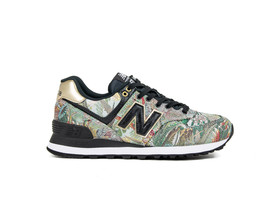 NEW BALANCE WL574 SNA BLACK/GOLD