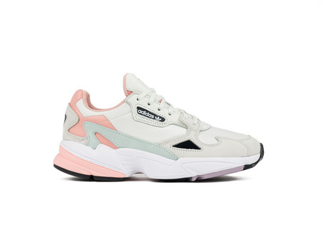 ADIDAS FALCON W GREY SALMON
