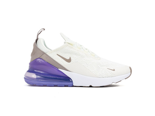 NIKE AIR MAX 270 WOMEN SAIL-PUMICE-SPACE PURPLE-WH-AH6789-107-img-1