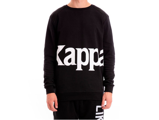SUDADERA KAPPA BERNEL BLACK LIKE NO OTHER-304IEK0-906-img-1