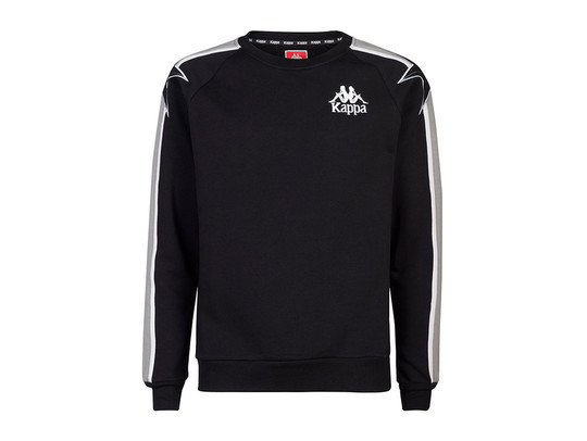 KAPPA PULLOVER SANCHEZ BLACK GREY-3030CL0-902-img-1