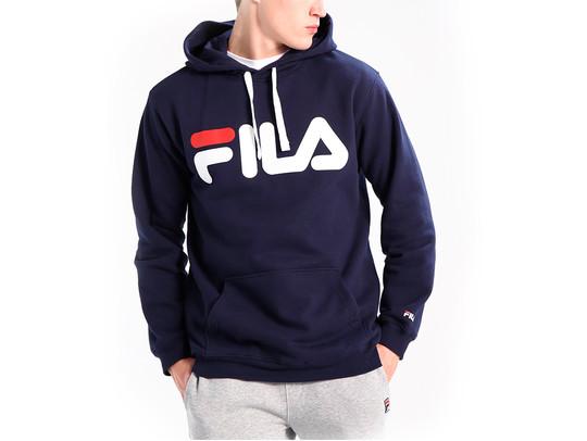 FILA HOODIE CLASSIC LOGO BLACK IRIS-681462-BI-img-1