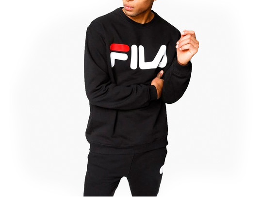 FILA PURE CREW SWEAT BLACK-680431-002-img-1