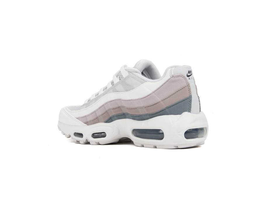 NIKE AIR MAX 95 WOMEN VAST GREY OIL GREY SUMMIT WHITE
