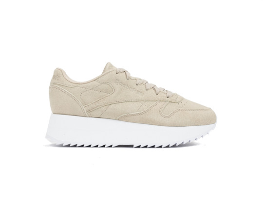 REEBOK CL LTHR DOUBLE LIGHT SAND WHITE-DV3629-img-1