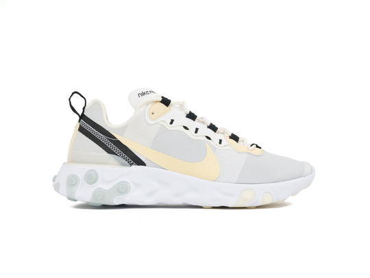NIKE REACT ELEMENT 55 WHITE-PALE VANILLA-BQ6166-101-img-1