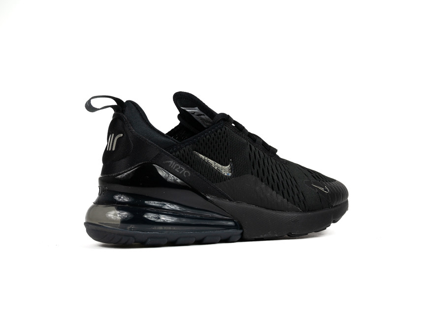new products 95bf8 f27d8 NIKE AIR MAX 270 BLACK CHROME-PURE PLATINUM-ANTHRACITE. Deslizar