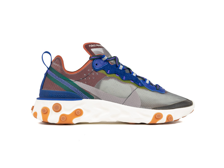 NIKE REACT ELEMENT 87 DUSTY PEACH-ATMOSPHERE GREY