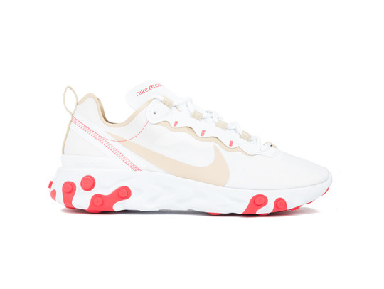 NIKE REACT ELEMENT 55 WHITE-DESERT ORE-BQ2728-101-img-1