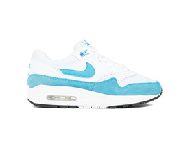 NIKE AIR MAX 1 WOMEN WHITE-LT BLUE FURY-BLACK-319986-117-img-1