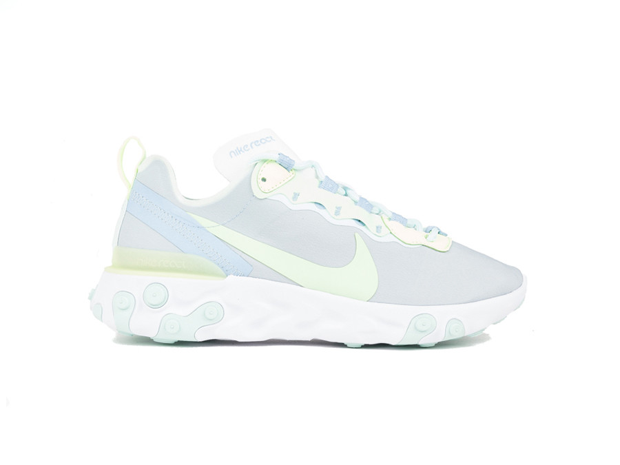 NIKE REACT ELEMENT 55 WHITE-FROSTED SPRUCE-BQ2728-100-img-1