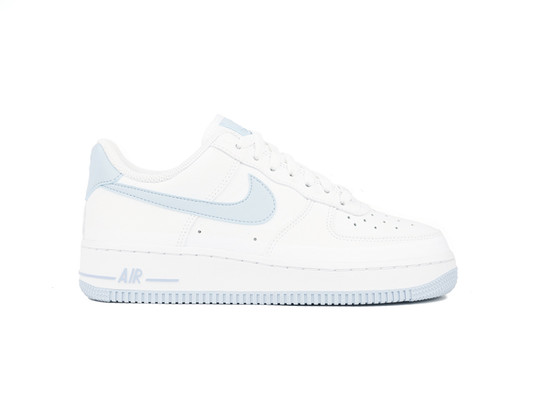 NIKE AIR FORCE 1 07 WOMEN WHITE-LT ARMORY BLUE-AH0287-104-img-1