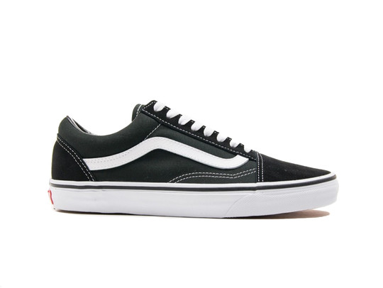 Vans U Old Skool Black White Unisex-VD3HY28-img-1