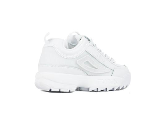 9e761e4f7 FILA DISRUPTOR II PATCHES WMN WHITE - 5FM00538-100 - - TheSneakerOne