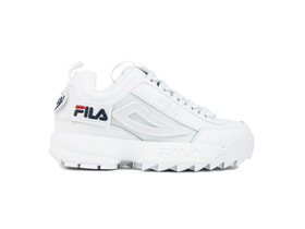FILA DISRUPTOR II PATCHES WMN WHITE-5FM00538-100-img-1