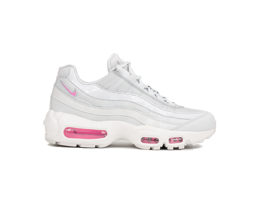 sneakers for cheap c7167 9d47f NIKE AIR MAX 95 WOMEN VAST GREY-PSYCHIC PINK-SUMMIT WHITE
