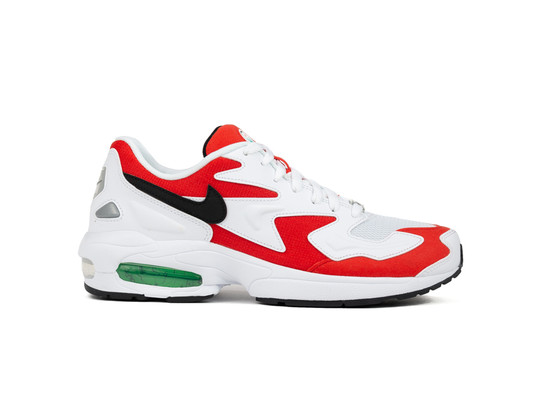 NIKE AIR MAX2 LIGHT WHITE BLACK-HABANERO RED-COOL GREY-AO1741-101-img-1