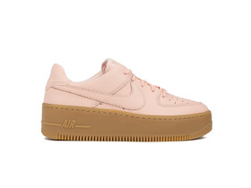 NIKE AIR FORCE 1 SAGE LOW LX WOMEN WASHED CORAL-WASHED CORAL-AR5409-600-img-1