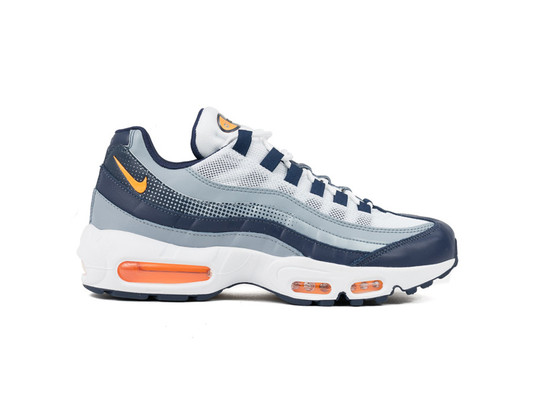 NIKE AIR MAX 95 SE MIDNIGHT NAVY LASER ORANGE-WHITE-AJ2018-401-img-1