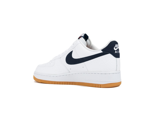 NIKE AIR FORCE 1 WHITE OBSIDIAN UNIVERSITY RED-CI0057-100-img-4