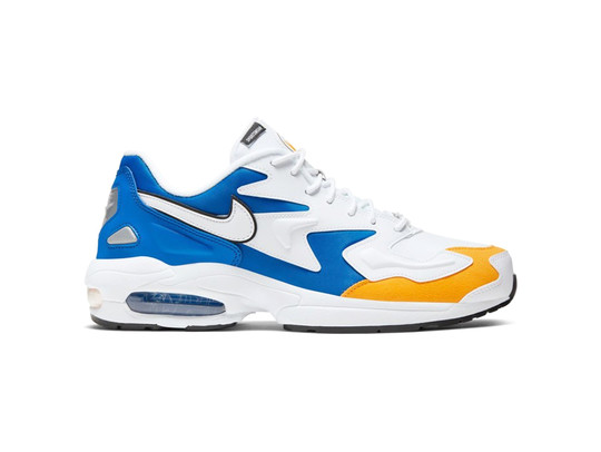 NIKE AIR MAX2 LIGHT PREMIUM WHITE WHITE UNIVERSITY GOLD-BV0987-102-img-1
