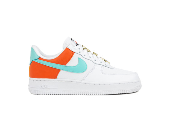 NIKE AIR FORCE 1 '07 SE SHOE WHITE LIGHT AQUA-AA0287-106-img-1