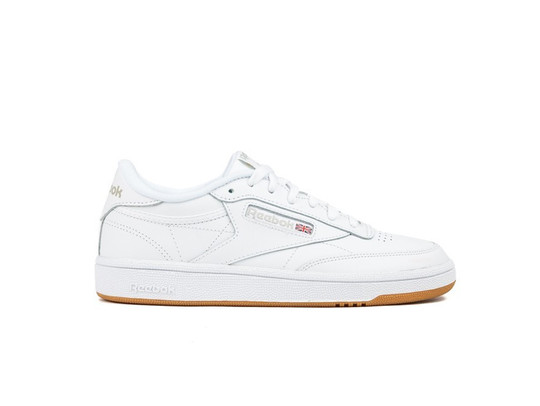 REEBOK CLUB C 85 WOMEN WHITE-GUM-BS7686-img-1