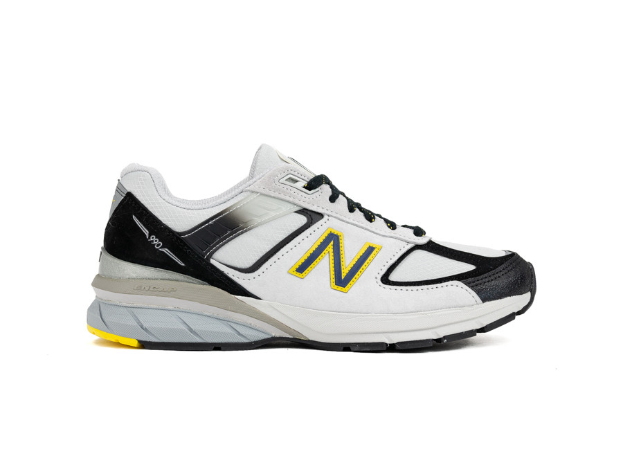 NEW BALANCE M990 SB5 BLACK WHITE GREY MADE IN USA