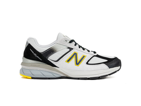 NEW BALANCE M990 SB5 BLACK WHITE GREY MADE IN USA-M990SB5-img-1