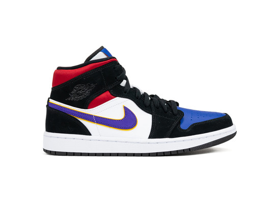 AIR JORDAN 1 MID SE 100 FIELD PURPLE WHITE GYM RED-852542-005-img-1