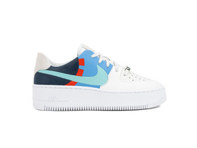 NIKE AIR FORCE 1 SAGE LOW LX PLATINUM TINT LIGHT AQUA OBSIDIAN-BV1976-002-img-1