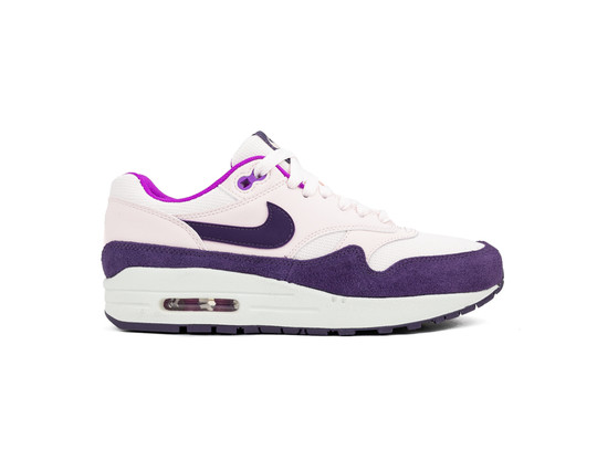 NIKE AIR MAX 1 SHOE LIGHT SOFT PINK GRAND PURPLE-319986-610-img-1